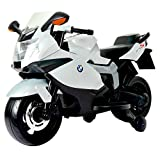 Best Ride On Cars Bmw 12 V Motorcycle, White (Color: White, Tamaño: One Size)
