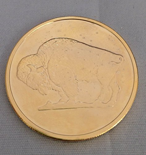 2011 Gold-Plated Copper Buffalo Round [One AVDP Ounce] - 1