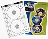 Neato /Fellowes Photo Quality Gloss CD/DVD Labels (100 pack)