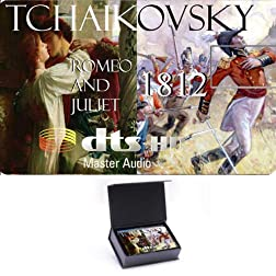 Tchaikovsky 'Romeo and Juliet' , '1812' High Definition Music Card [Blu-ray]