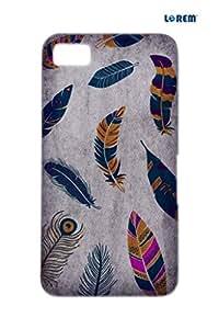 Lorem Back Cover For BlackBerry Z10-Blue-L24252