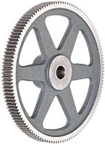 Boston Gear YA80 Spur Gear, Cast Iron, Inch, 20 Pitch, 0.625