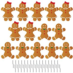 Amazon.com - Gingerbread People Pathway Markers - Christmas Yard