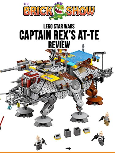 LEGO Star Wars Captain Rex's AT-TE Review (75157)