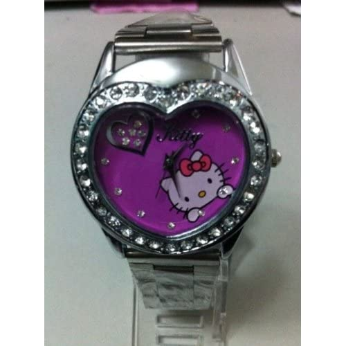Miss Peggy Jos   Hello Kittys Quartz Movement Watch**And a Hello Kitty Bling Necklace** 2 3 days from date of order to your door