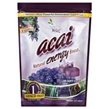 Healthy To Go! Energy Boost, Acai, Soft Chews, 30 ea