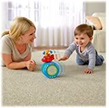 FISHER PRICE LAUGH & LEARN PUPPY'S CRAWL ALONG BALL IN GREEK