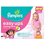 Pampers Easy Ups Training Pants Girls...