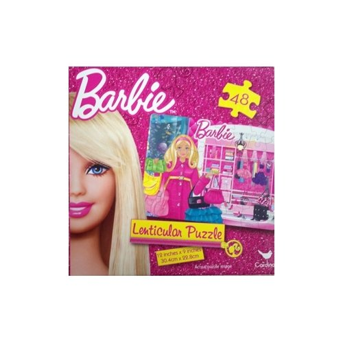 Barbie 48 piece Shopping Lenticular Puzzle - 1
