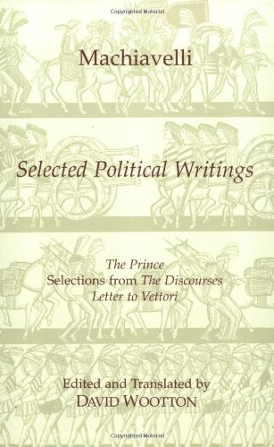 Selected Political Writings087220281X