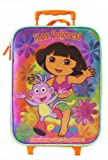 Nick Jr Dora The Explorer Luggage - Kids Travel Pilot Case