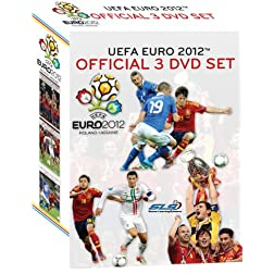 UEFA EURO 2012 Official 3 DVD Set
