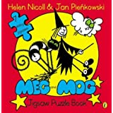 Meg and Mog Jigsaw Puzzle Bookby Helen Nicoll