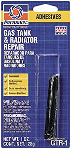 Permatex 80884 Gas Tank and Radiator Repair, 1 oz.