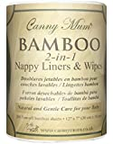 Bamboo Nappy Liners & Wipes (200 pack)