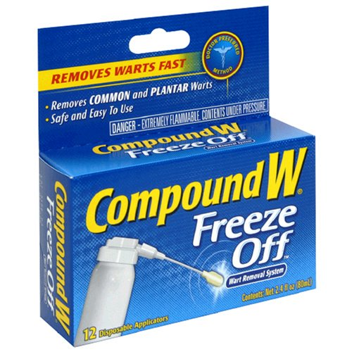 Compound W Freeze Off Wart Removal System, 12 disposable applicators [2.4 fl oz (80 ml)]