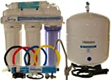 iSpring RCC7 5-Stage Reverse Osmosis Water Filter System, Crystal Clear