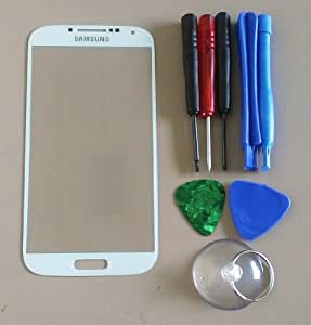 Front Glass Screen Replacement for Samsung Galaxy S4 S IV - Black + Free TOOLS