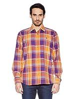 Otto Kern Camisa Bernard (Naranja / Morado)