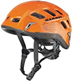 MAMMUT(マムート) クライミング ヘルメット Rock Rider オレンジ/スモーク 【日本正規品】 222000130