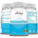 Astaxanthin 10mg (60-Day Supply) Softgels; Nature's Potent Antioxidant & Carotenoid