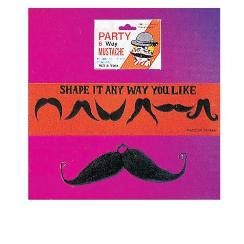 Rubies Costumes Moustache Six Way