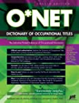 Onet Dictionary Of Occupational Titles