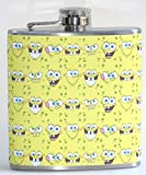 SpongeBob SquarePants! 6 oz Liquor Hip Flask Flasks Fun Gift