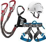 Klettersteigset LACD Pro Evo + Salewa Helm Toxo & Gurt...