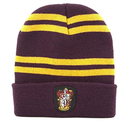 "BERRETTO Cappello HARRY POTTER Casa GRIFONDORO Originale ""BEANIE"" Ufficiale"