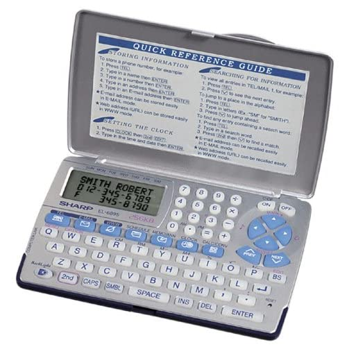 Amazon.com : Sharp EL-6890SB 256K Memory 4-Line Display Electronic