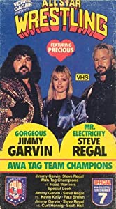 All Star Wrestling Series # 7 - AWA Tag Team Champions Gorgeous Jimmy Garvin & Mr. Electricity Steve Regal