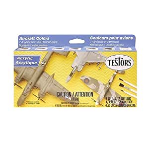 Testor Corp. Testors Acrylic Aircraft Finishing Paint Set