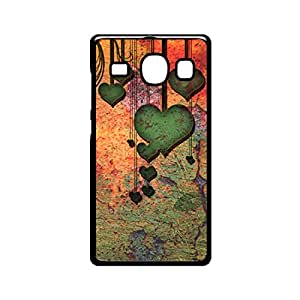 Vibhar printed case back cover for Samsung Galaxy A8 VintageHearts
