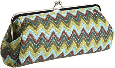 BIG BUDDHA Jipanema Clutch,Green,One Size