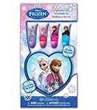 Frozen 4pk Lip Tubes with Heart Case in Box