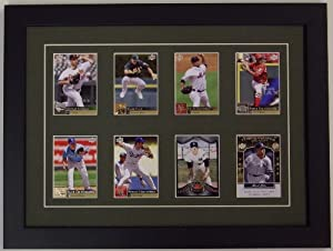 Trading Card Display Frame-- 8 cards--