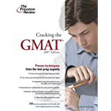Cracking the GMAT, 2007 Edition (Graduate School Test Preparation) ~ Princeton Review