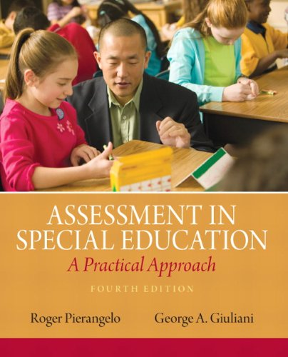 Assessment in Special Education: A Practical Approach (4th Edition) PDF