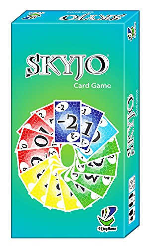 SKYJO, from Magilano - The ultimate card game for kids and adults. The ideal board game for fun and entertaining for exciting evenings with friends and family.