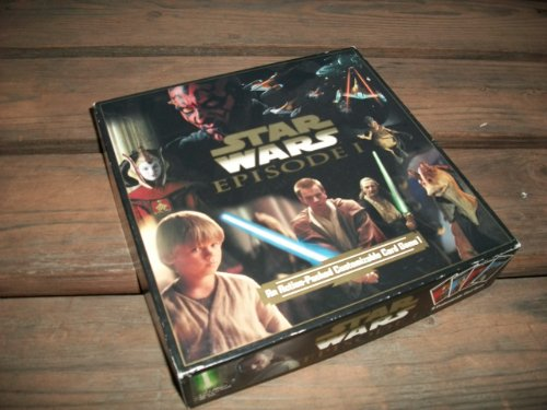 "Star Wars Episode I ""An Action-Packed Customizable Card Game - 1"