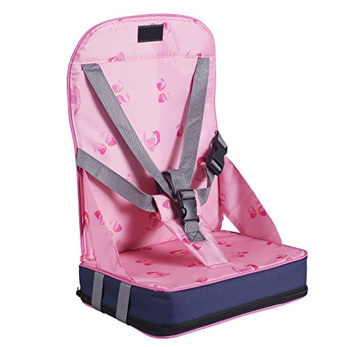 Baby-Sitzerhhungen-Boostersitze-hohe-Sthle-Sessel-Schnelle-Verffentlichung-Rosa