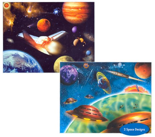 Flip Space Jigsaw Puzzle 100pc - 1