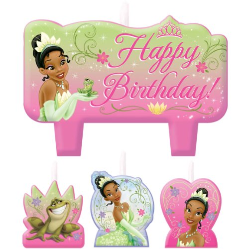 Princess and the Frog Sparkle Candle Set - 1