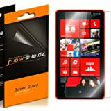 [6-Pack] SUPERSHIELDZ- High Definition (HD) Clear Screen Protector For Nokia Lumia 820 + Lifetime Replacements Warranty [6-PACK] - Retail Packaging