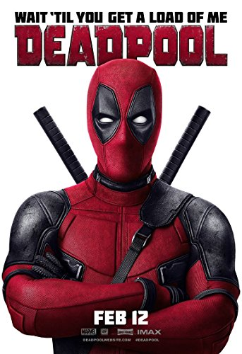 Deadpool Film-Poster, 70 x 44 cm