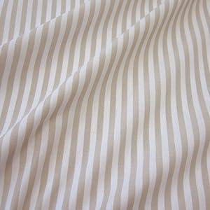 stoff meterware bauernstreifen beige wei streifen gestreift landhaus gardine k che. Black Bedroom Furniture Sets. Home Design Ideas