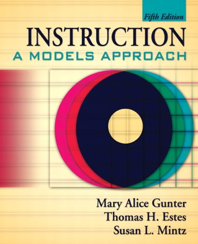 Instruction: A Models Approach (5th Edition) (Instruction A Models Approach compare prices)