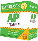 Barrons AP Calculus Flash Cards, 2nd Edition