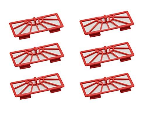 Shp-Zone 6 X Replacement Filter For Neato Xv-11 Xv-12 Xv-14 Xv-15 Xv-21 Neato Robotic Series front-629963